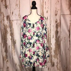Umgee floral dress XL